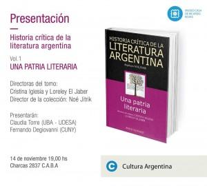 literatura argentina