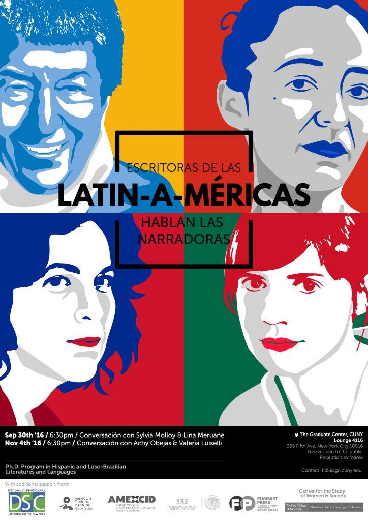 Escritoras de las Latin-a-méricas
